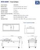 "MiniPack MVS 830R VacBasic - ""Recessed Deck"" Double Chamber Vacuum Sealer"