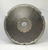 #52 Speco Meat Grinder Plate with 5/64'' Holes - Hubbed Plate - 104793