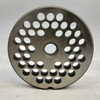 #12 SpecoMeat Grinder Plate with 1/4' Holes - Reversible & Hubbed Plate - 104130 & 104248