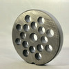 #12 Speco Meat Grinder Plate with 3/8' Holes - Reversible & Hubbed Plate - 105762 & 103219