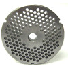 #32 Meat Grinder Plate with 3/16'' Holes - Hub Style