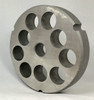 #52 Speco Meat Grinder Plate with 1'' Holes - Reversible & Hubbed Plate - 106615 & 102436