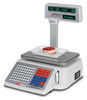 Detecto DL1060 60lb. Label Printing Scale with Pole/Tower