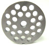 #22 Meat Grinder Plate with 3/8'' Holes