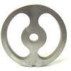 #22 Meat Grinder Plate with Kidney Holes - 2 Holes