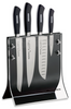"F.Dick - 4 Piece Knife Set w/ Knife Block - Forged - ""ActiveCut"" - 8907200 - ""Black"""