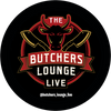 """""""The Butcher's Lounge Live"""" -  3"""" Magnet - """"Great for the Fridge or Freezer Door"""""""