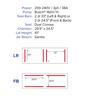 "MiniPack MV840 VacBasic - Double Chamber Vacuum Sealer - ""Front & Back"""
