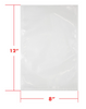 8 x 12 3mil Vacuum Barrier Bags (1,000)