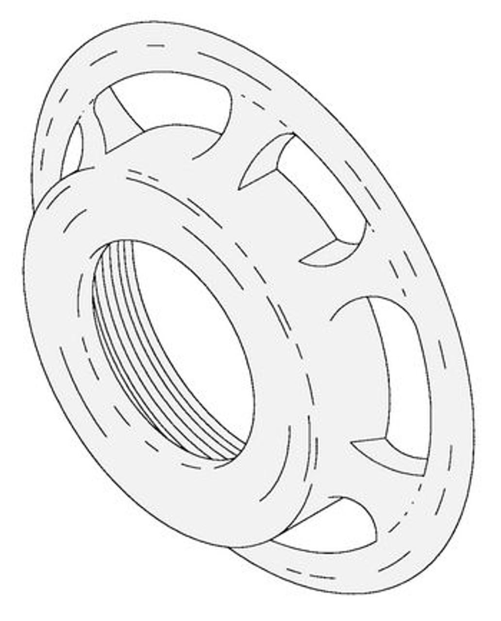 Hobart H504 - Grinder Ring - Hobart 4612,4812