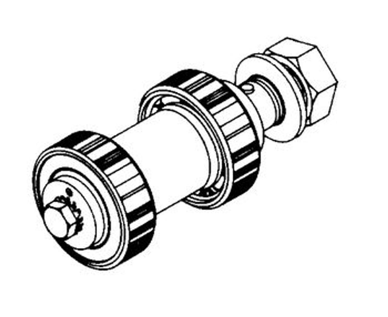 Butcher Boy B12,B14,B16,SA16, & SA20 - Upper Shaft & Bearing Assembly - BB019A-7/N