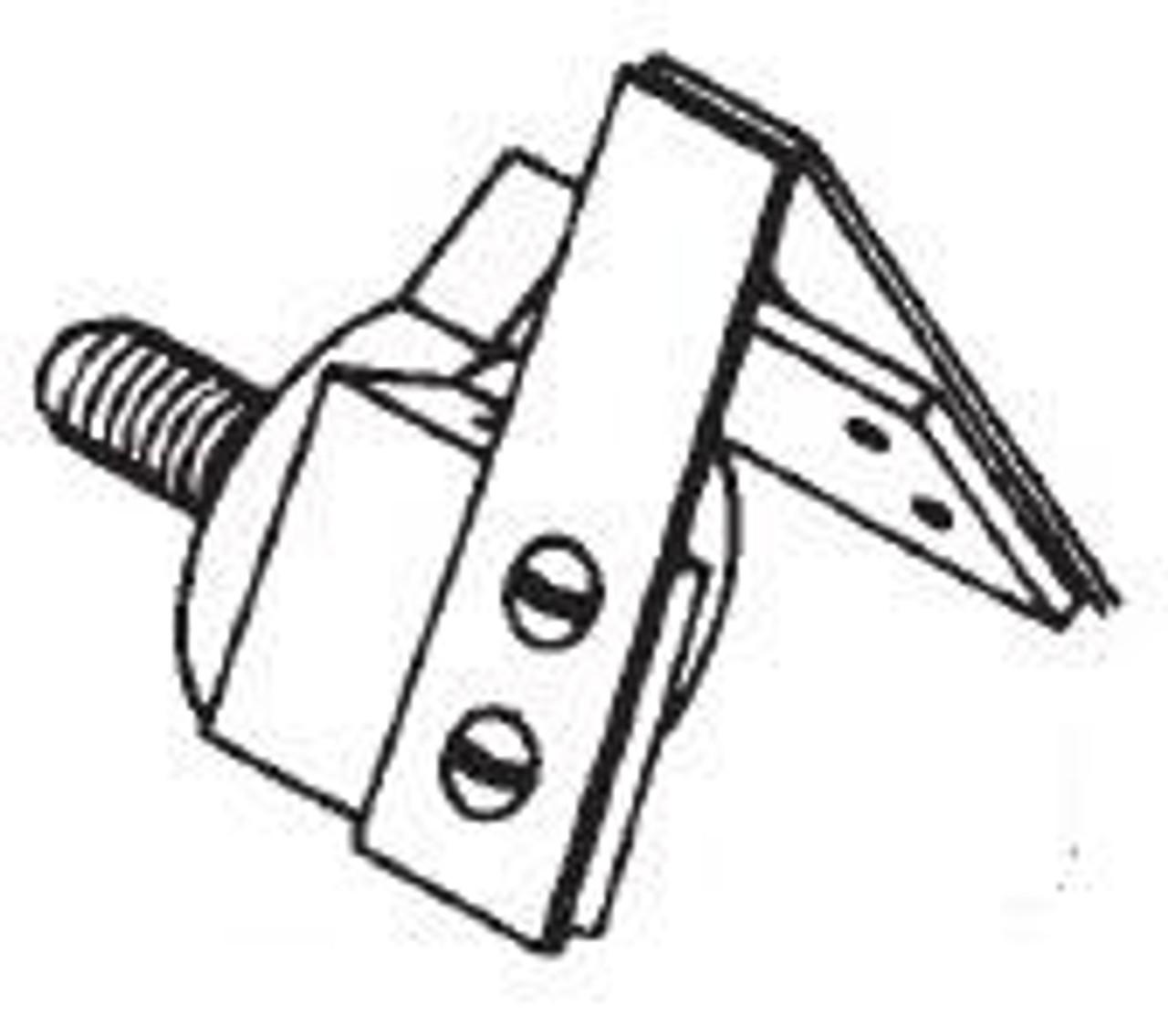 Butcher Boy B12,B14,B16,SA16, & SA20 - Blade Scraper Holder Assembly - Fiber - BB041A-66F