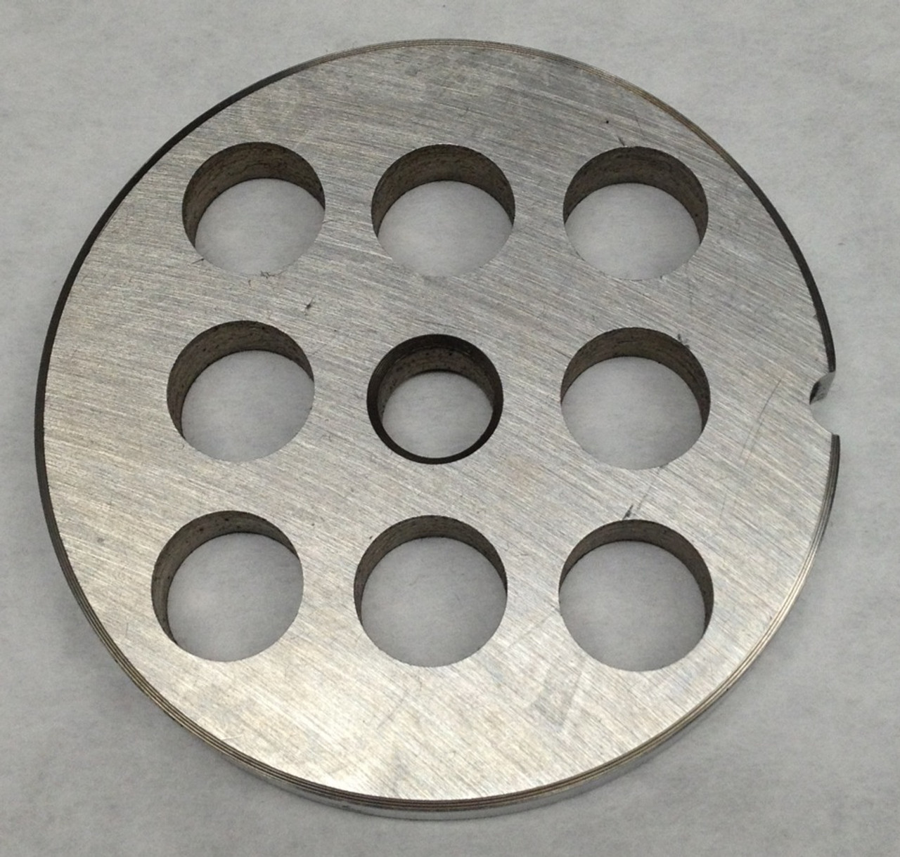 #12 Meat Grinder Plate with 1/2'' Holes