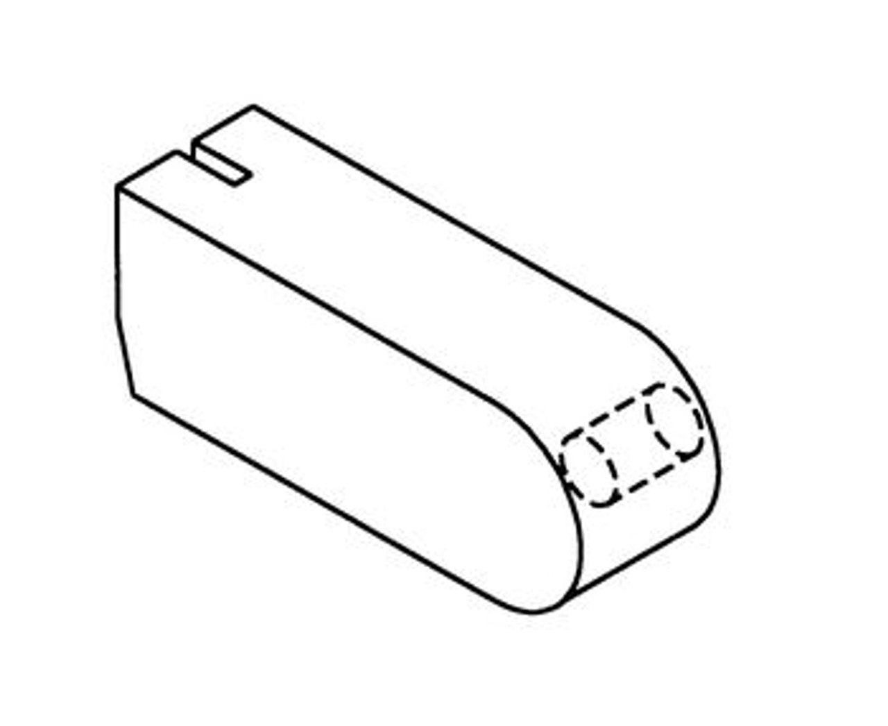 Hobart Filler Block Nylon - H027 - Model: 5212,5214,5216,5514,5614