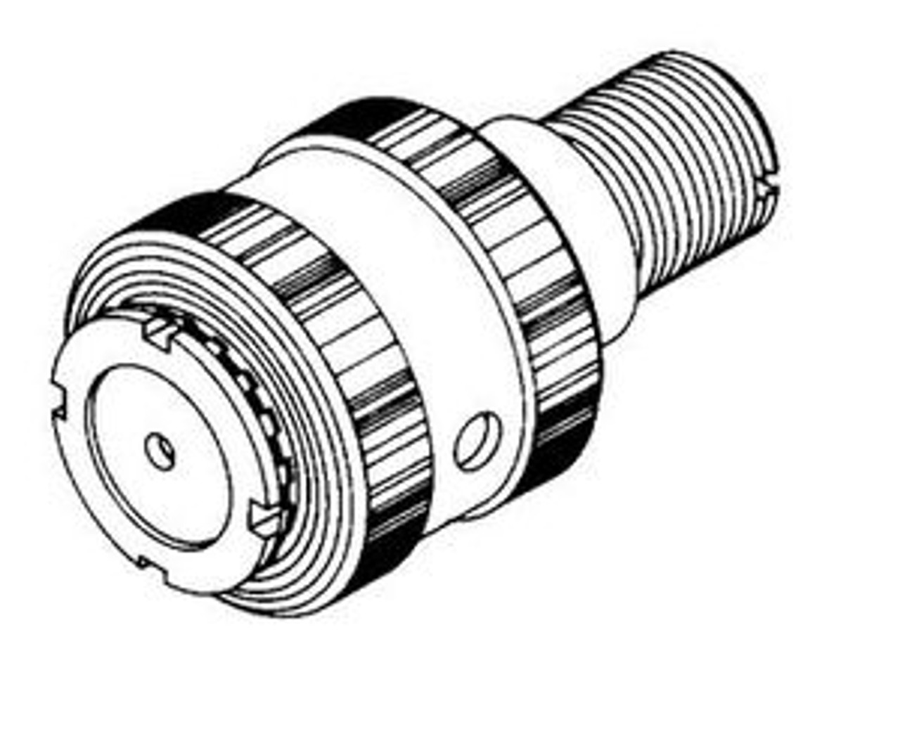 Biro Saw - Upper Main Shaft & Bearing Assembly - 22,1433,33,34,3334 - B033A-247