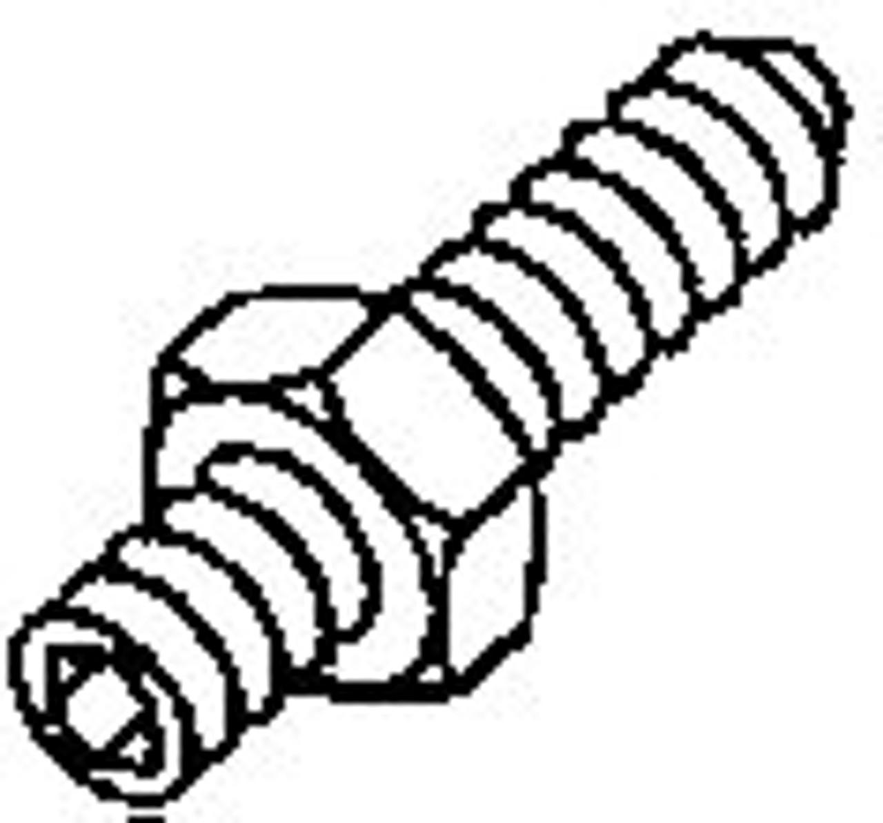 Biro Saw - Upper Wheel Aligning Screw - 33,34,3334 - B076