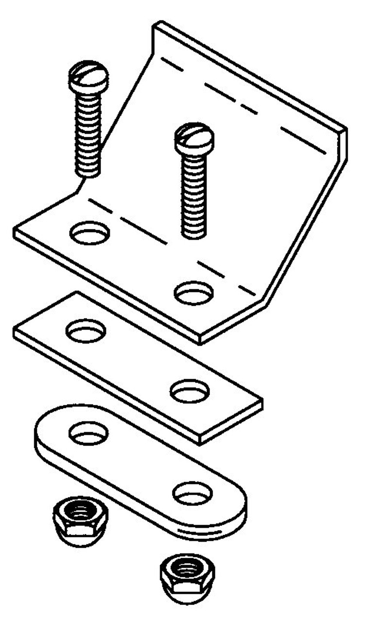 Hobart Saws - Upper Door Latch Hinge Assembly - H064A