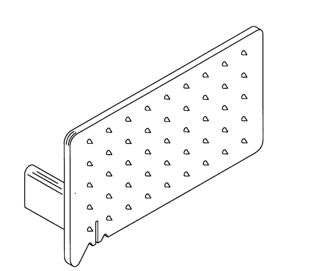 Butcher Boy B12,B14,B16 & SA16 - Short Cut Plate (Grey Plastic) - BB022