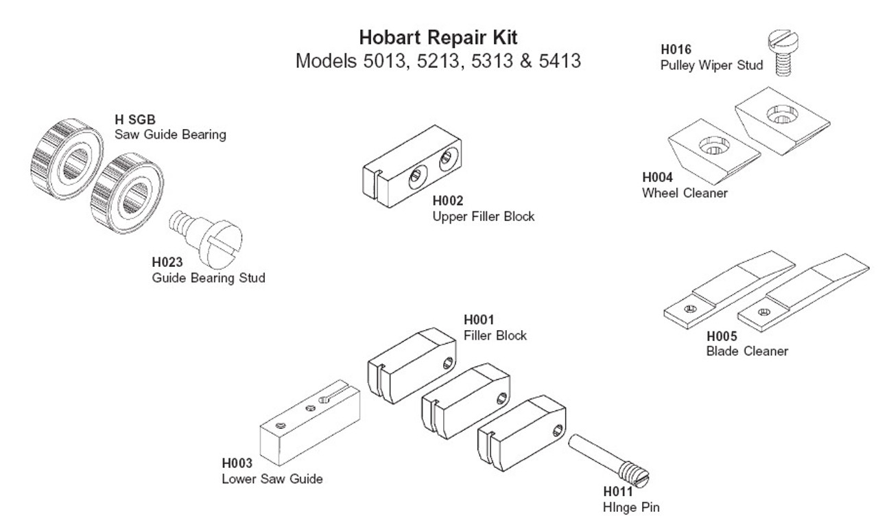 Hobart Repair Kit - HRK-3