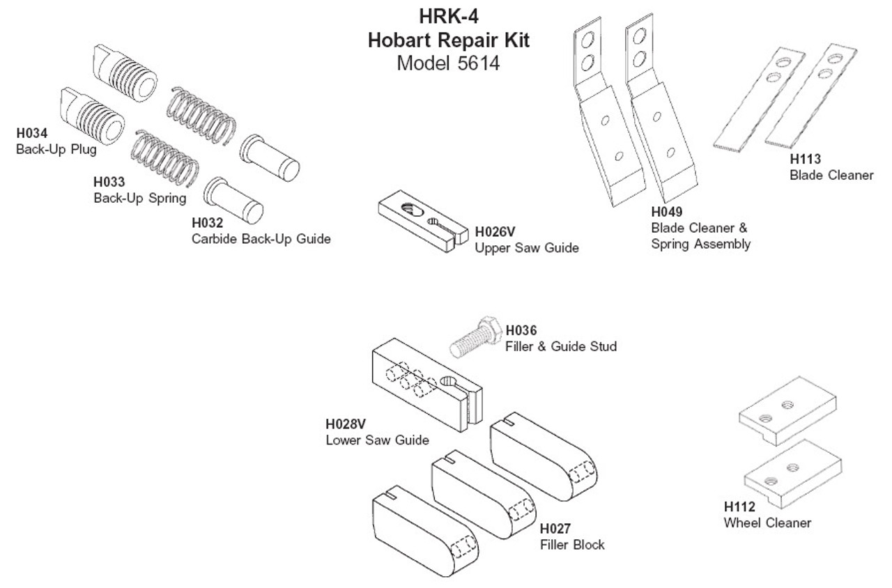 Hobart Repair Kit - HRK-4