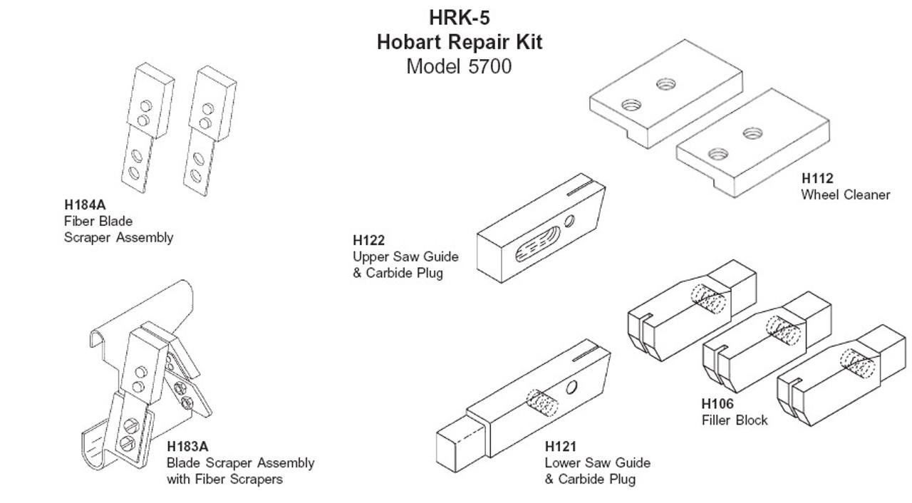 Hobart Repair Kit - HRK-5 - Model: 5700