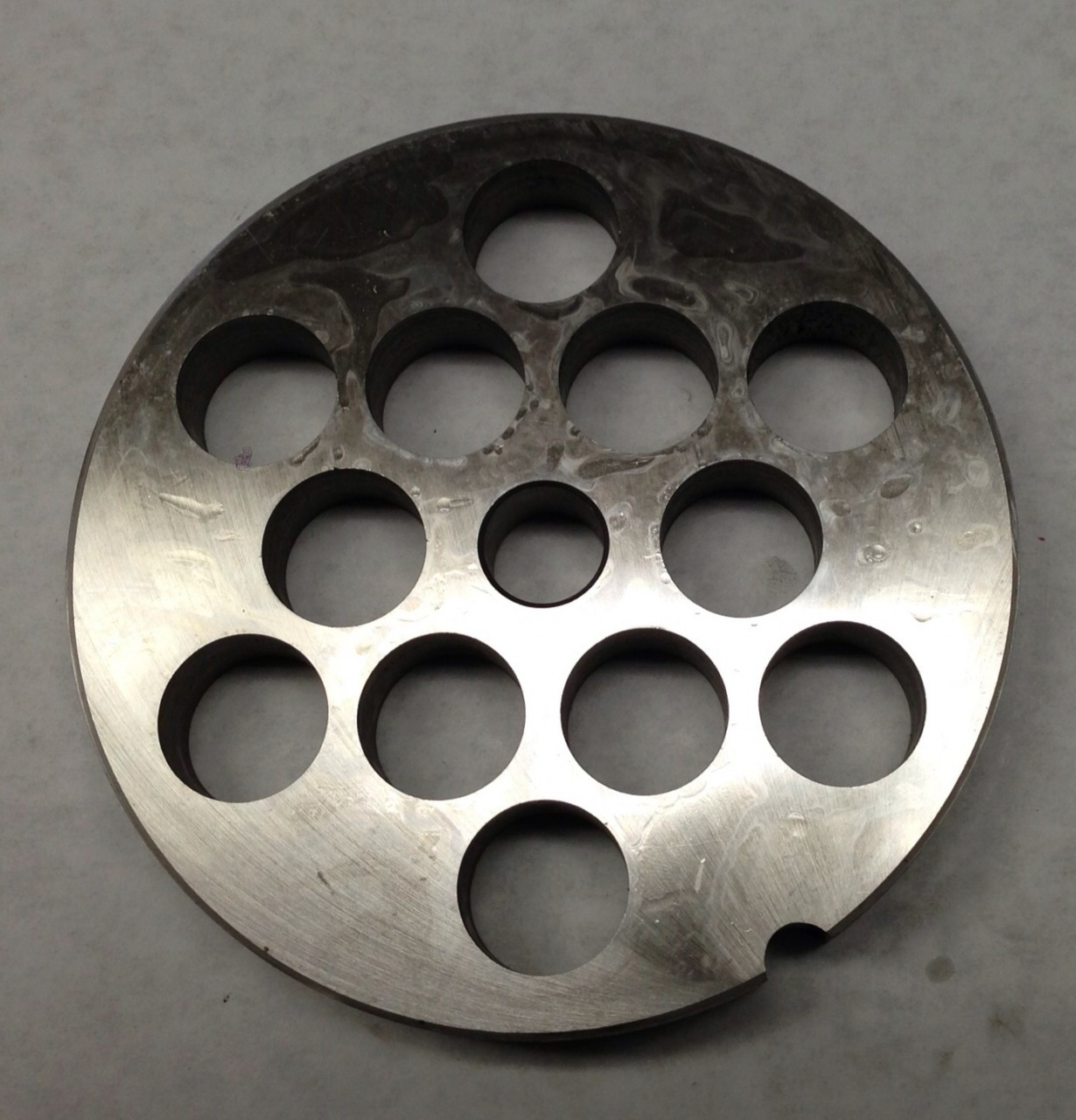 #56 Meat Grinder Plate with 1'' Holes