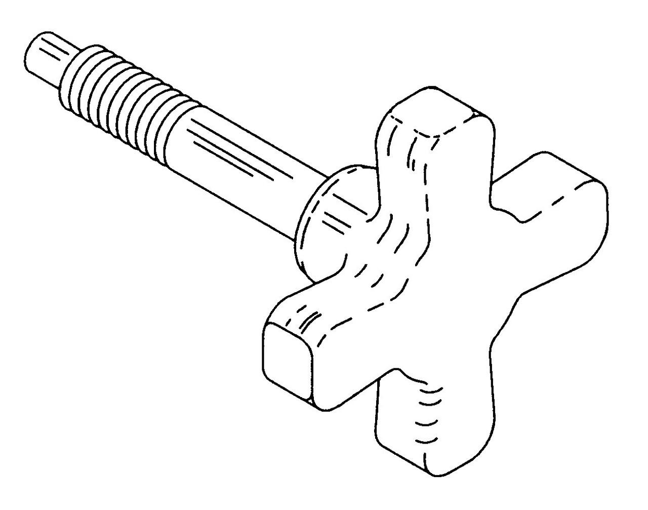 Biro Bowl/Head Lock Knob 6642,346 - B620