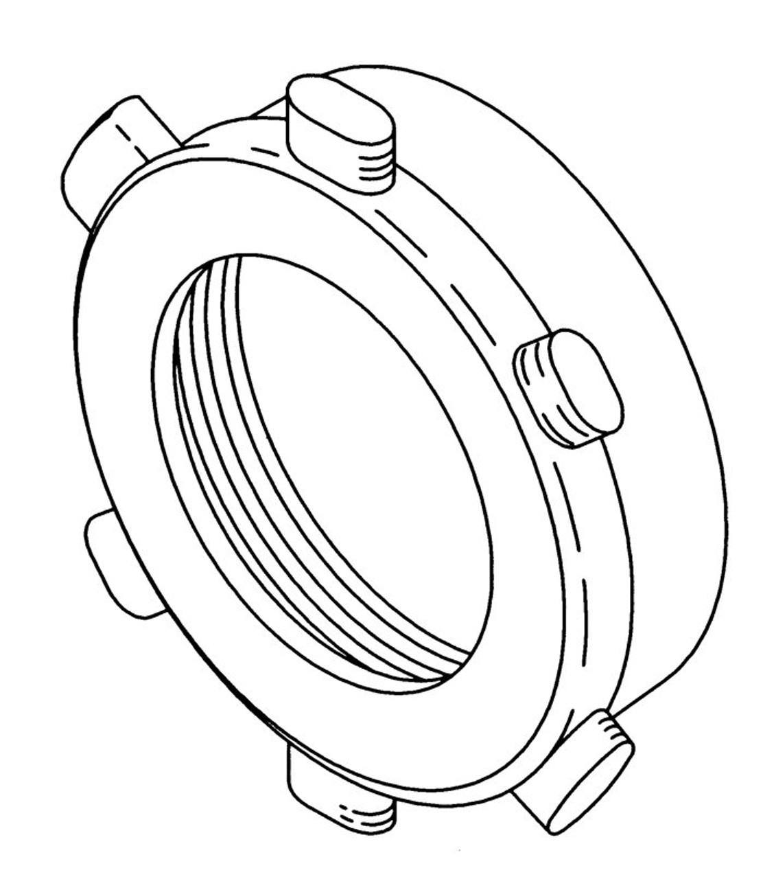 Butcher Boy A52,100/52,150/52,200/52 - Grinder Ring - BB530