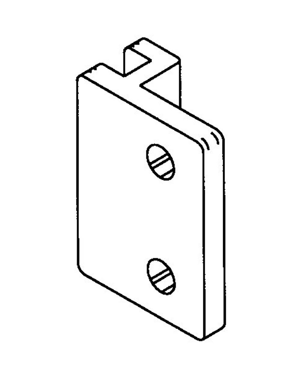Butcher Boy B12,B14,B16,SA16 & SA20 - Guide Block - BB154R - Right Side