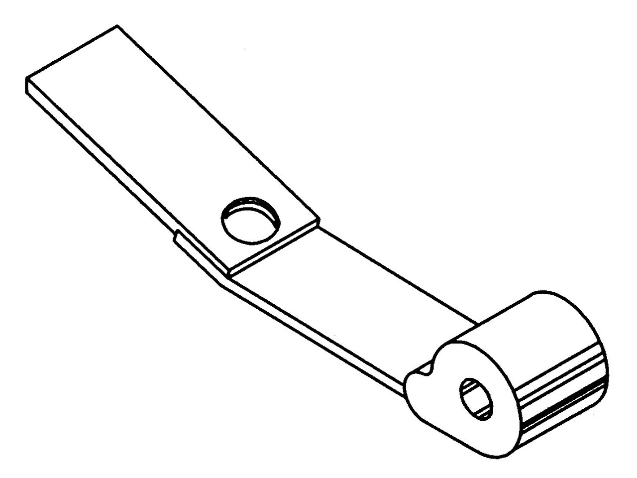 Butcher Boy B12,B14,B16 & SA16 - Wheel Scraper Assembly - BB040A