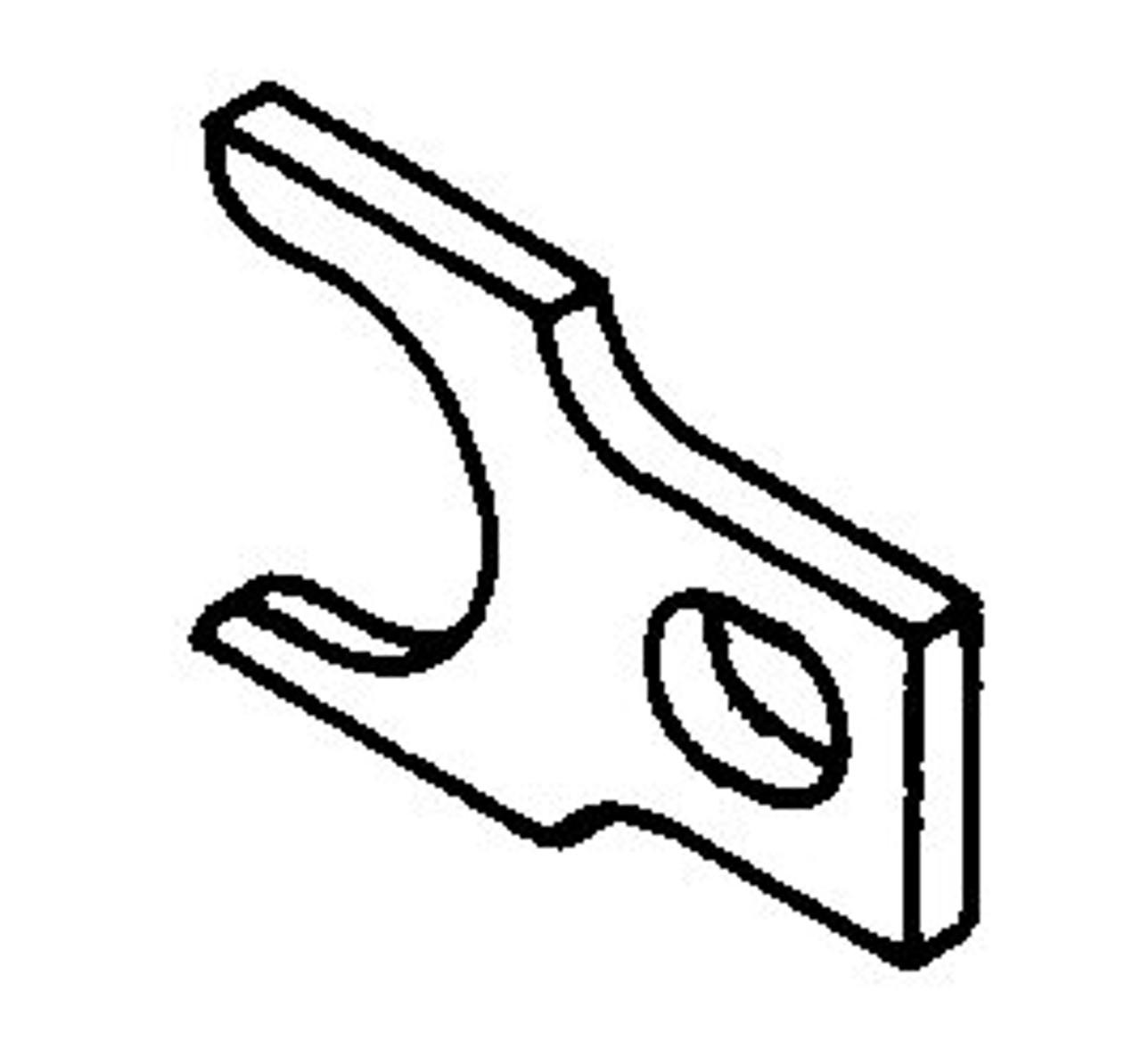 Butcher Boy B12,B14,B16 & SA16 - End Catch (Gauge Arm Support) - BB007-68