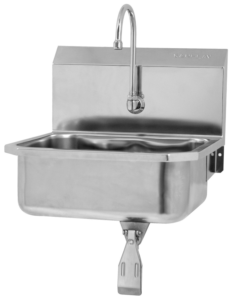 SANI-LAV 5051 Hands Free Sink - Stainless Steel - Wall Mount