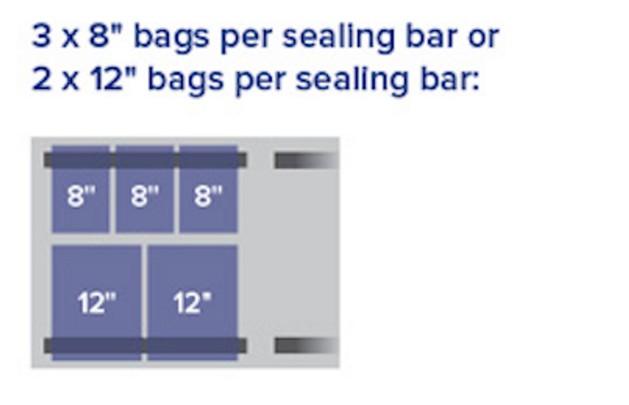 "MiniPack MVS 630F VacBasic - ""Flat Deck"" Double Chamber Vacuum Sealer"