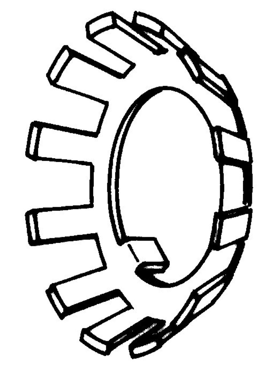 Biro Saws - Upper Shaft Lock Washer