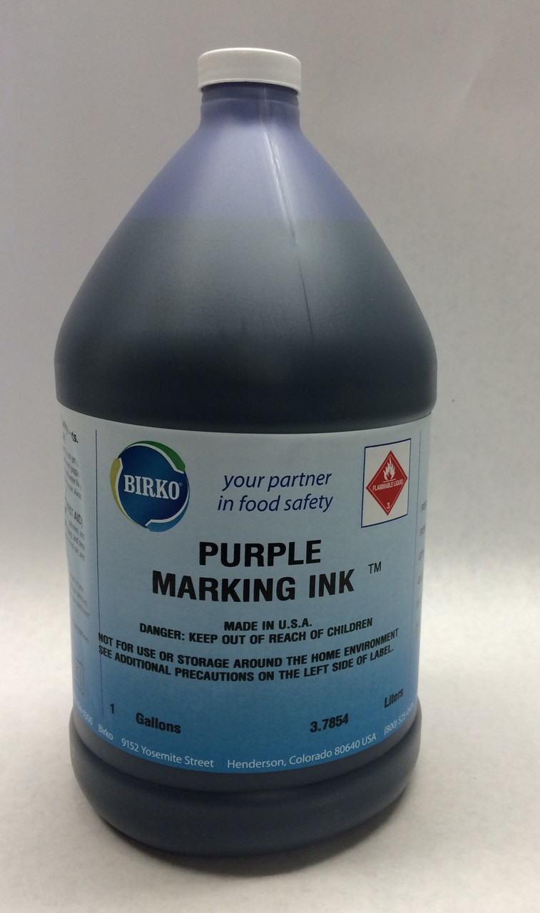 Birko Meat Branding Ink (Purple) - 98P - I00261