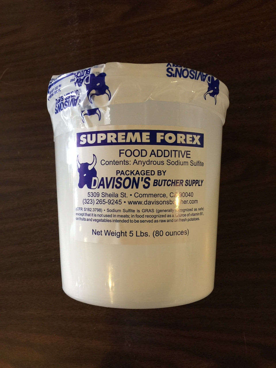 Supreme Forex - 8/5lb Containers - 40lb Case