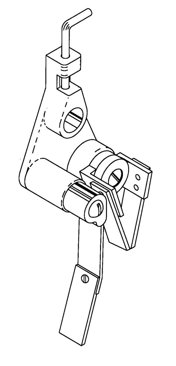 Butcher Boy SA20 - Rear Scraper Assembly - Right Hand - BB028A