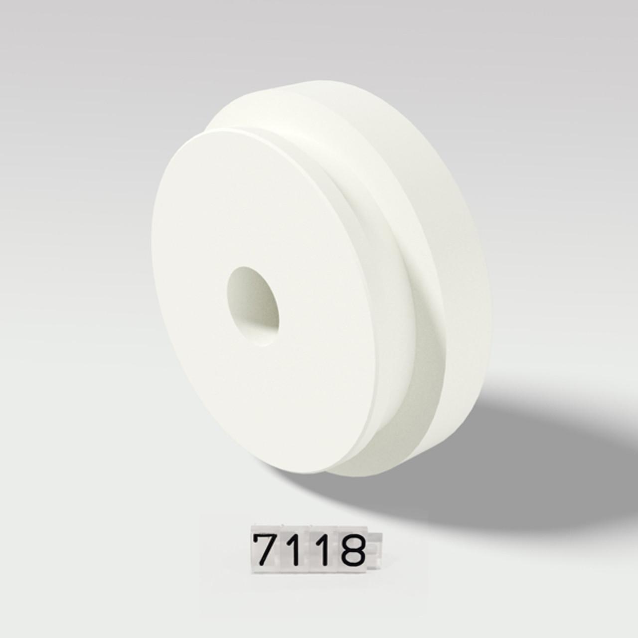 Talsa PH500 & PF500 - Portion Device Piston White Plastic - 7118