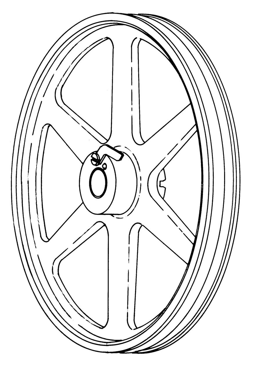 Hobart Saws - Upper Wheel & Lower Wheel - All Models