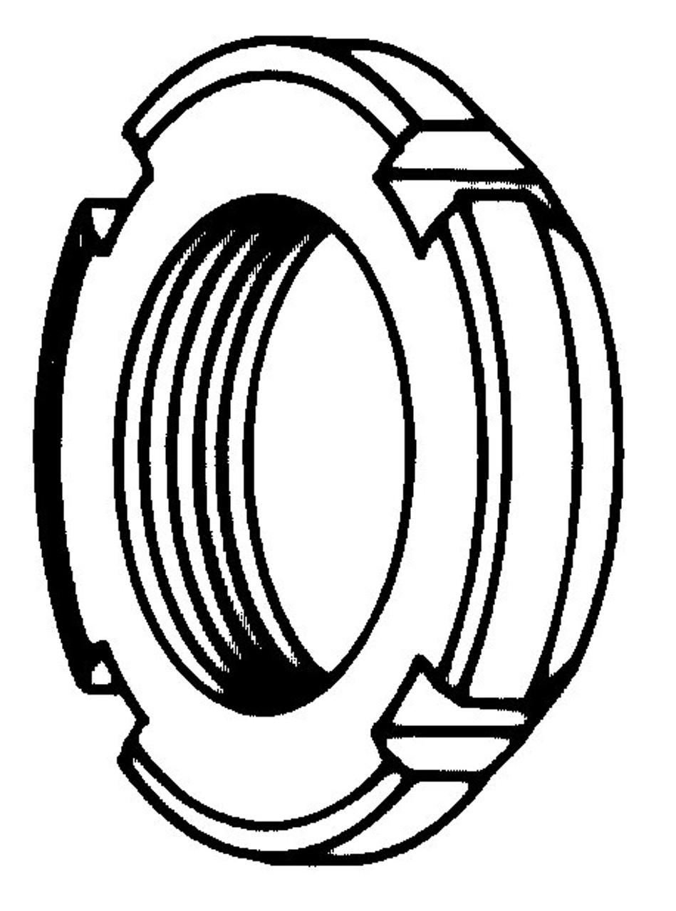 Biro Saws - Castellated Lock Nut - B050-237