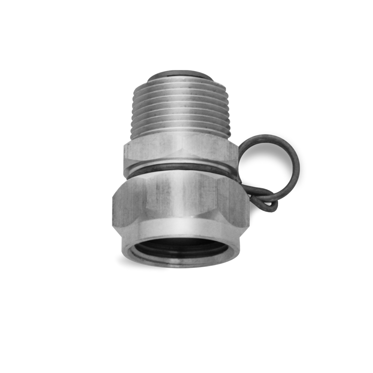 SANI LAV - Swivel Hose Adapter Stainless Steel - N17S