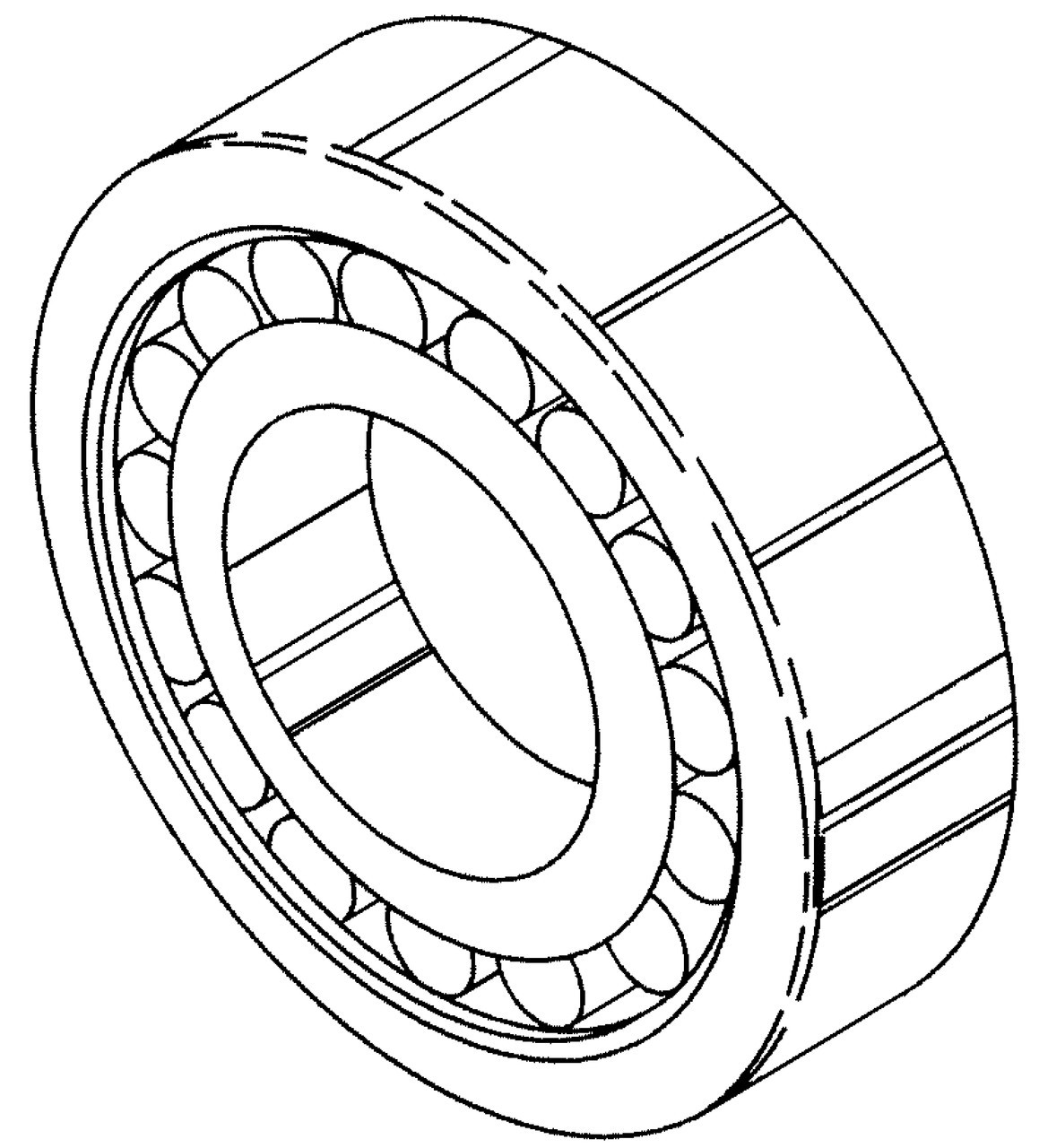Butcher Boy SA30 & SA36 - Lower Main Bearing (Roller) Front - 90315 - BB158