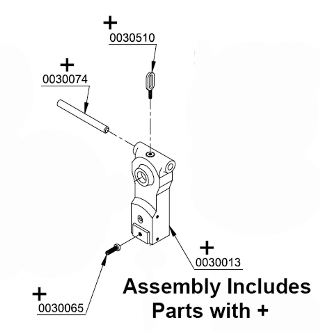 Butcher Boy SA30 & SA36 - Hanger Assembly - 30066
