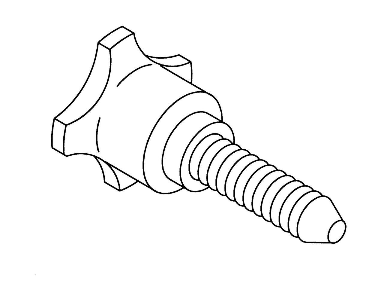 Bizerba Slicer - Sharpener Knob - SE12,SE8,A330,SG8D - BZ040