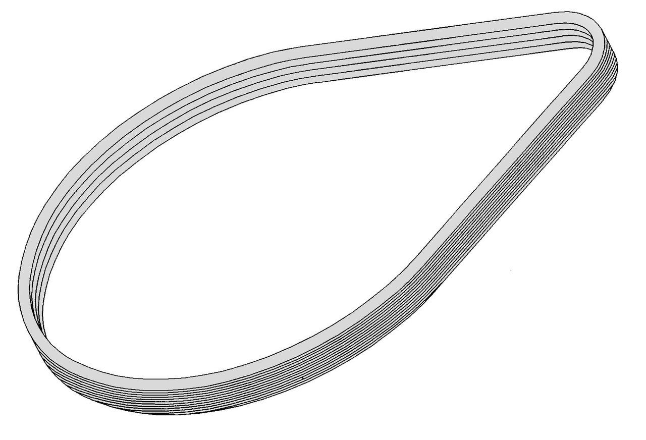 Bizerba Slicer - Knife Pulley Belt - SE12 - BZ062
