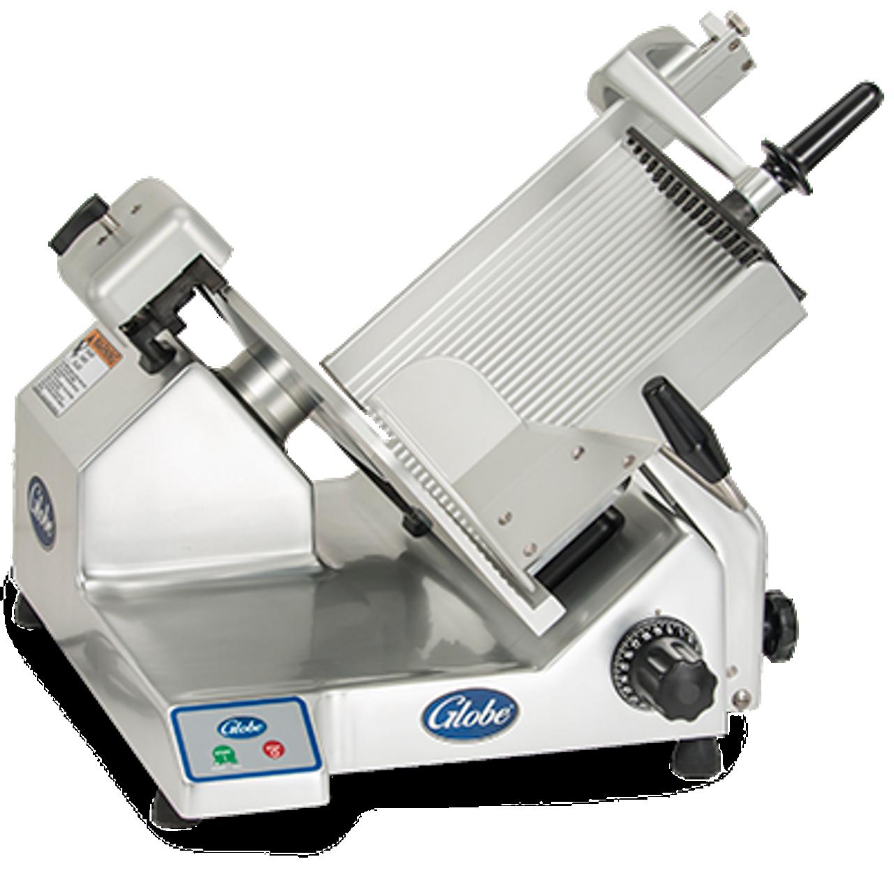 """Globe S13 -- 13"""" Heavy Duty Manual Gravity Feed Slicer - 1/2 HP"""