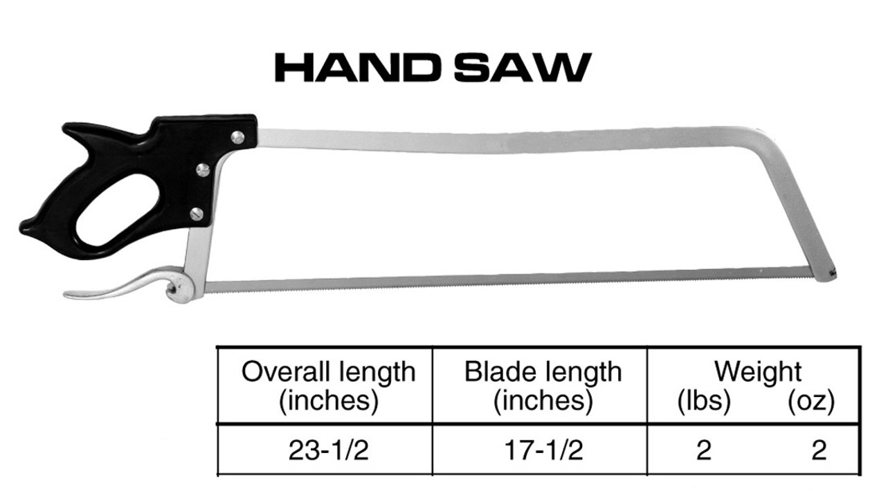 "17.5'' Handsawv- ""Made In The USA"""