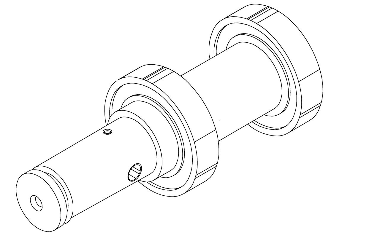 Hobart Saws - Upper Shaft & Bearing  Assembly - H177A - 5700,5701,5801