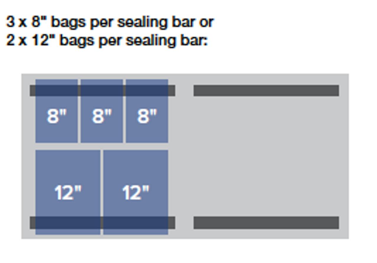 "MiniPack MVS 630R VacSmart - ""Recessed Deck"" Double Chamber Vacuum Sealer"