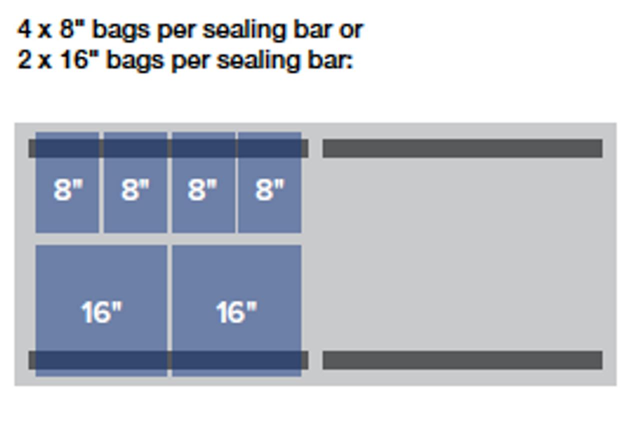 "MiniPack MVS 830R VacSmart - ""Recessed Deck"" Double Chamber Vacuum Sealer"